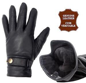 Aufrichtig Handschuhe Leder D'lämmer Gefüttert Polar Gemischt Männer Frauen Kaufen Sie Immer Gut
