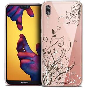 Coque-Crystal-Gel-Pour-Huawei-P20-LITE-5-84-034-Souple-Love-Hearts-Flowers