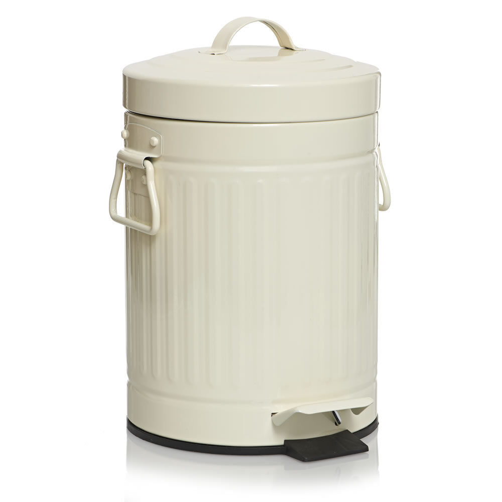 Kitchen Waste Bins: American Pedal Bin Kitchen Bathroom US Style Retro Rubish
