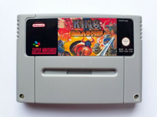 King of Dragons SNES Super Nintendo Video Game PAL version new