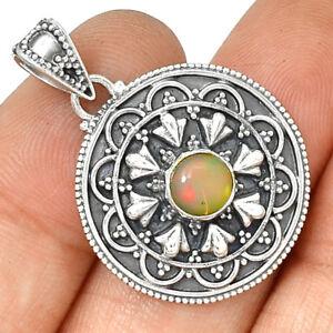 Bali-Ethiopian-Opal-925-Sterling-Silver-Pendant-Jewelry-PP188869