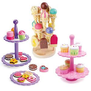 etagere eis kuchen kaufladen spielküche zubehör spielzeug