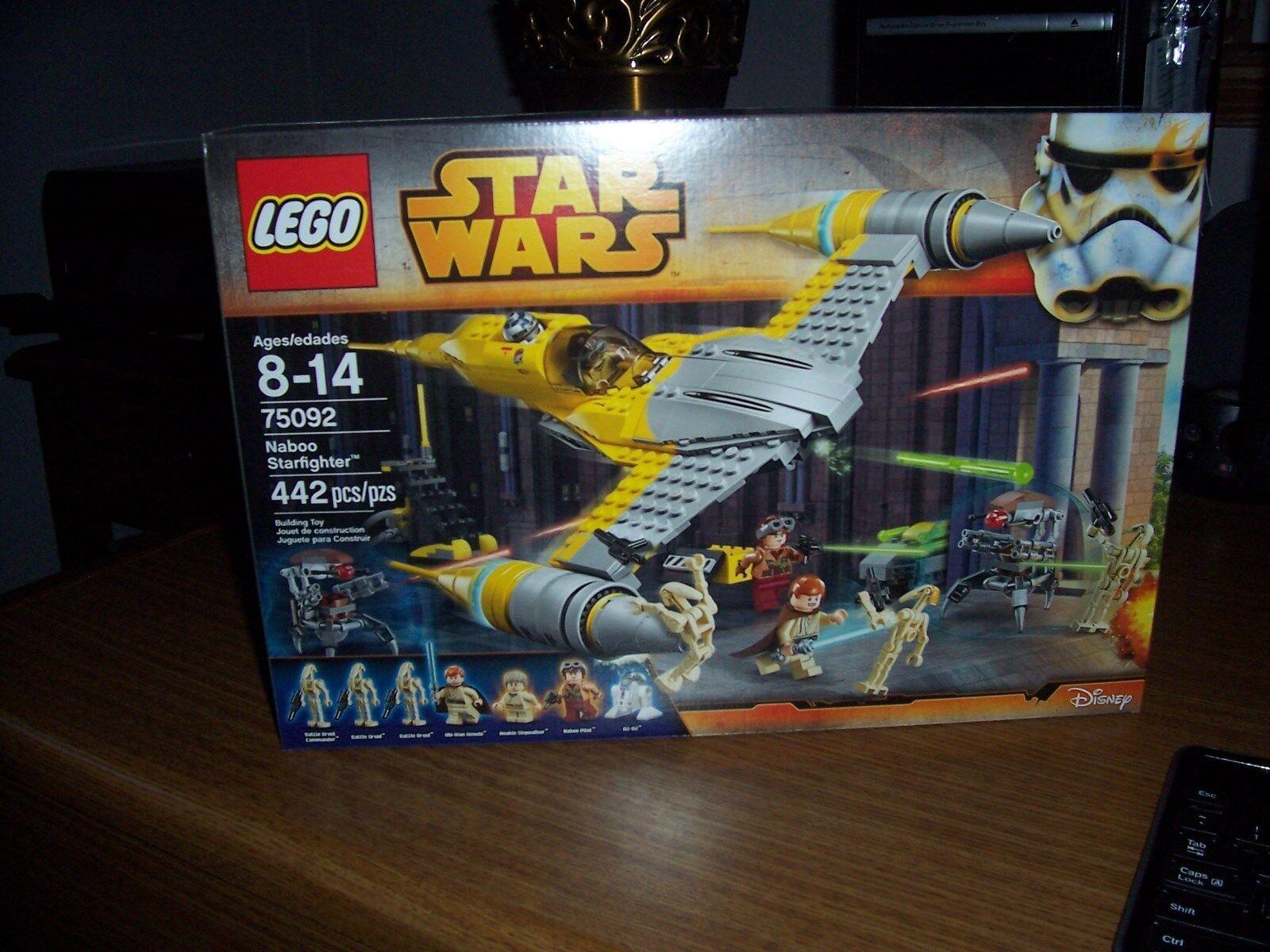 Lego Lego Lego star wars 75092 naboo starfighter nib factory sealed 22b6cb