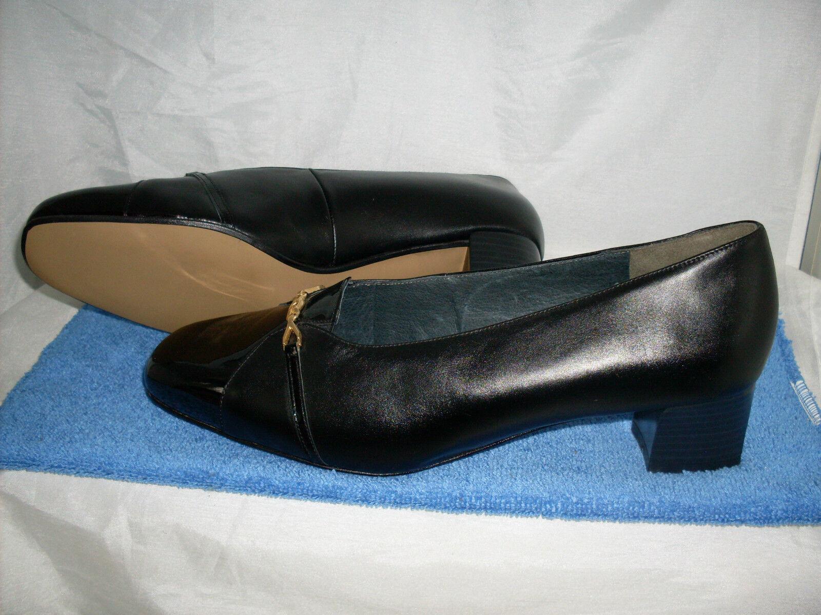 Damenschuh Vasana Pumps NEU Gr. Gr. NEU 8,5 42,5 H in schwarz Lack & Nappaleder ac32bf