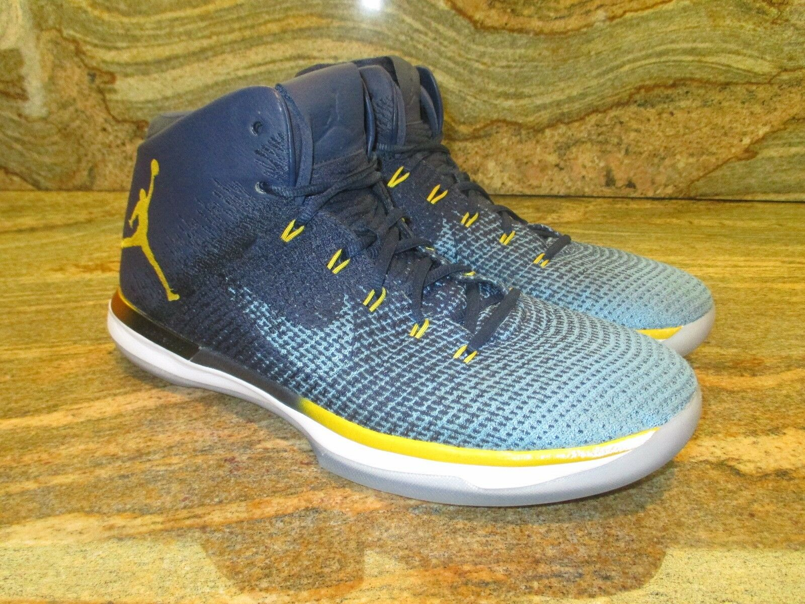 Unreleased Nike Sample Air Jordan XXX1 Promo Sample Nike SZ 14 Marquette PE Golden Eagles OG 29dace