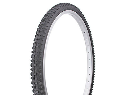 "Pair of Mountain Bike Tire Duro 26/"" x 1.75/"" Black//Black Side Wall HF-813"