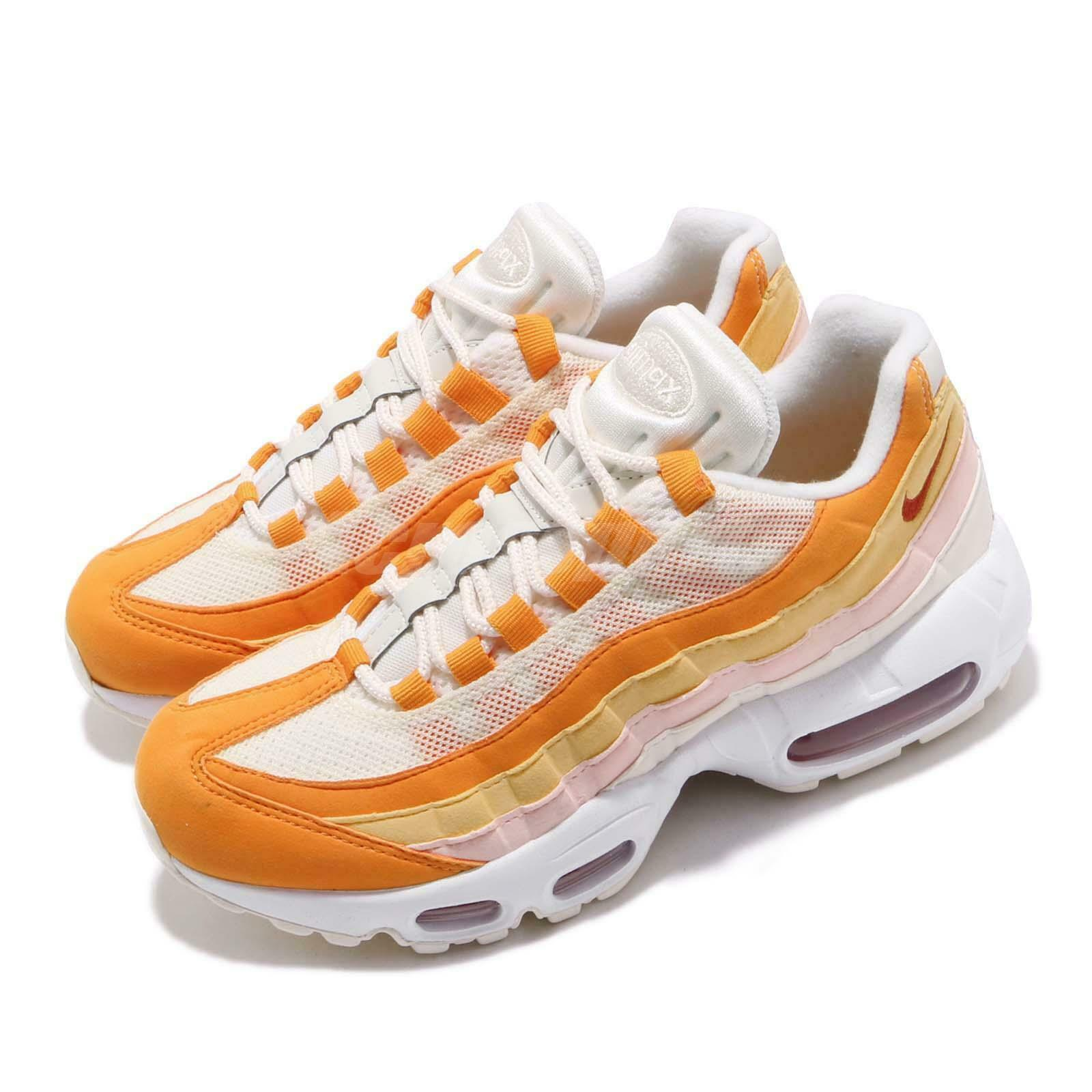Nike Wmns Air Max 95 Bacon orange Ivory Pink Womens Running shoes 307960-114