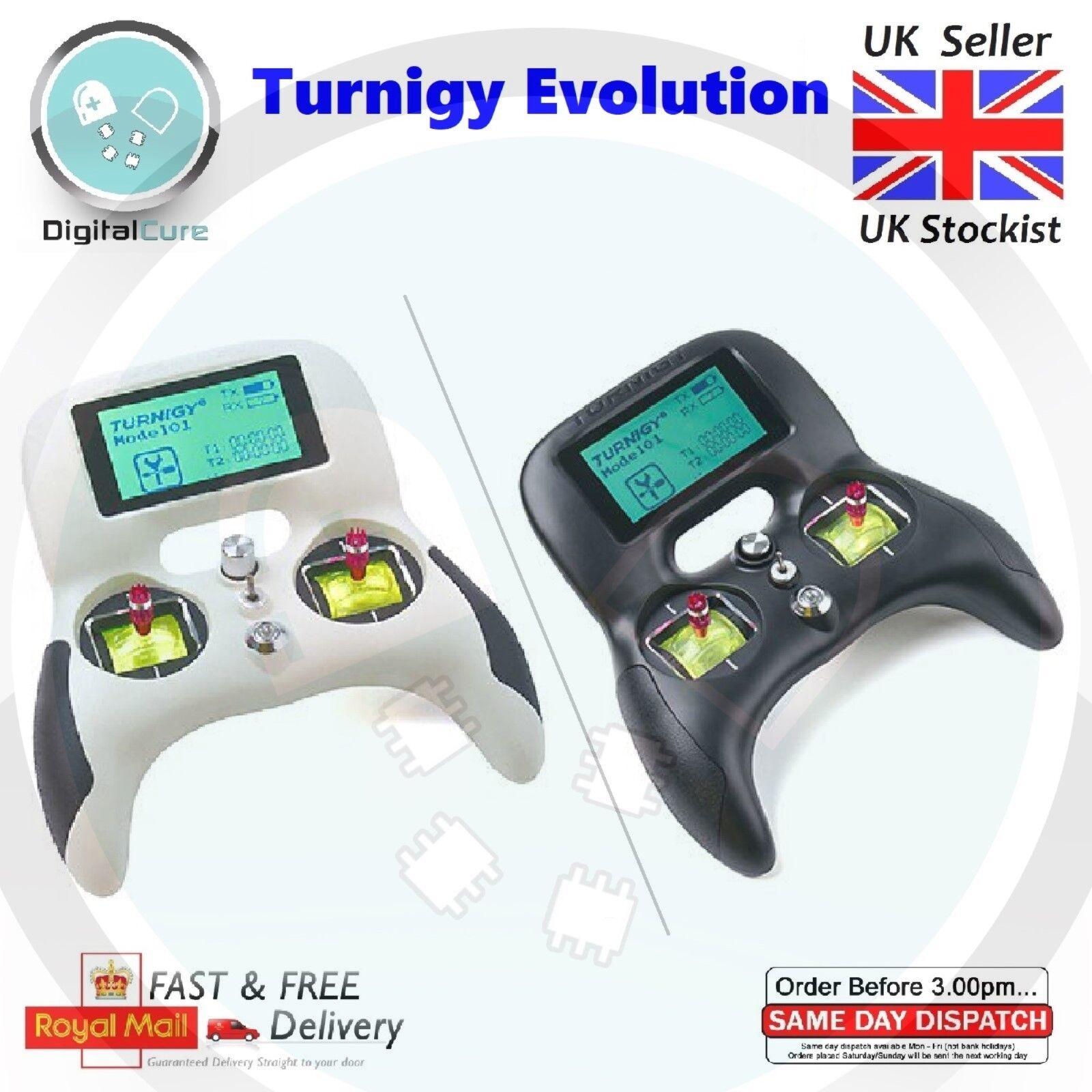 Turnigy Evolution Digital AFHDS 2A Mode 2 Radio Transmitter + TGY-iA6C Receiver