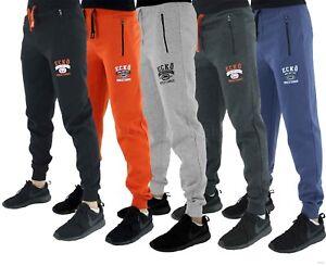 Ecko-Men-039-s-Designer-Fleece-Jog-Pants-Jogging-Sweat-Gym-Bottoms-Tracksuit