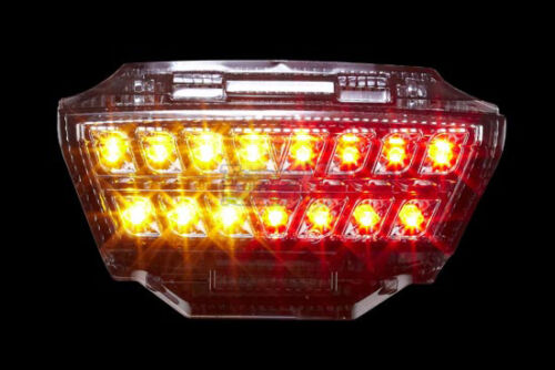 For 11 2012 13 14 2015 LED Integrated Taillight KAWASAKI Nnija ZX 10R SMOKE
