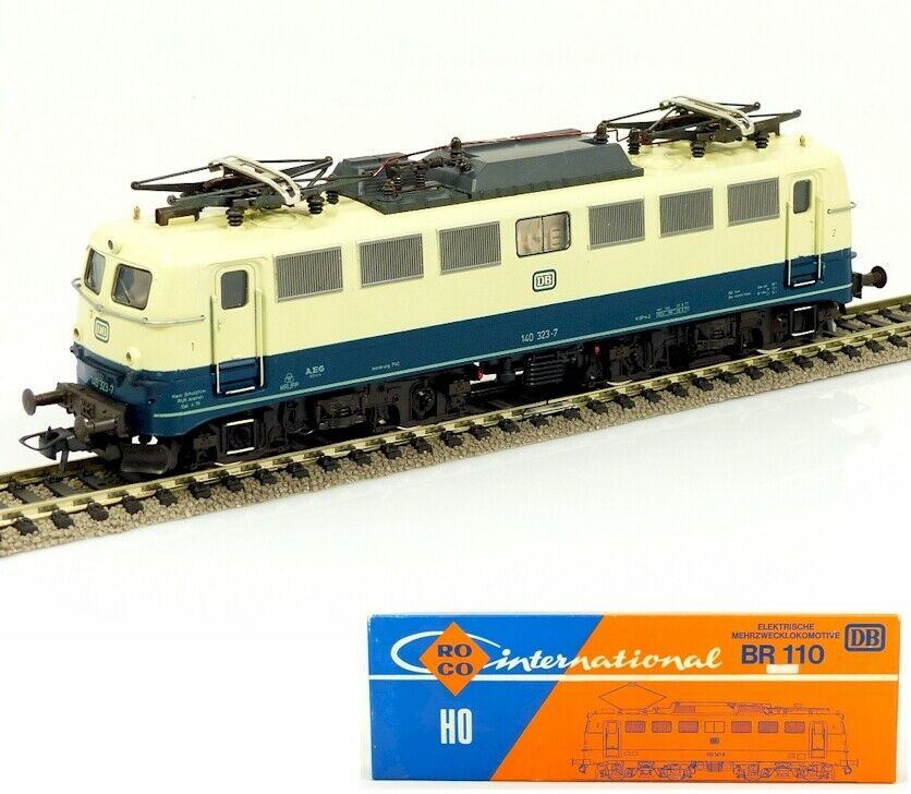 Roco 04136B HO 1 87 Electric locomotive BR 140 323-7 DB UNUSED - WRONG BOX