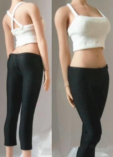 Custom 1//6 Camisole Vest/&Leggings Pants Clothes Set Fit 12/'/' Figure