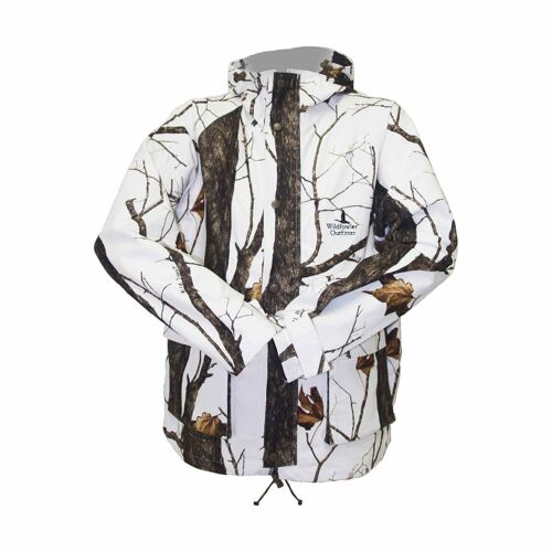 NEW Wildfowler Outfitter Men/'s Waterproof Parka XX-Large Wild Tree Snow