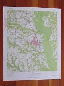 Warner Robbins Georgia Map.Warner Robins Georgia 1957 Original Vintage Usgs Topo Map Ebay
