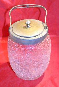 Alte Dose aus Eisglas, Jugendstil um 1900, unbeschädigt! - Greiz, Deutschland - Alte Dose aus Eisglas, Jugendstil um 1900, unbeschädigt! - Greiz, Deutschland