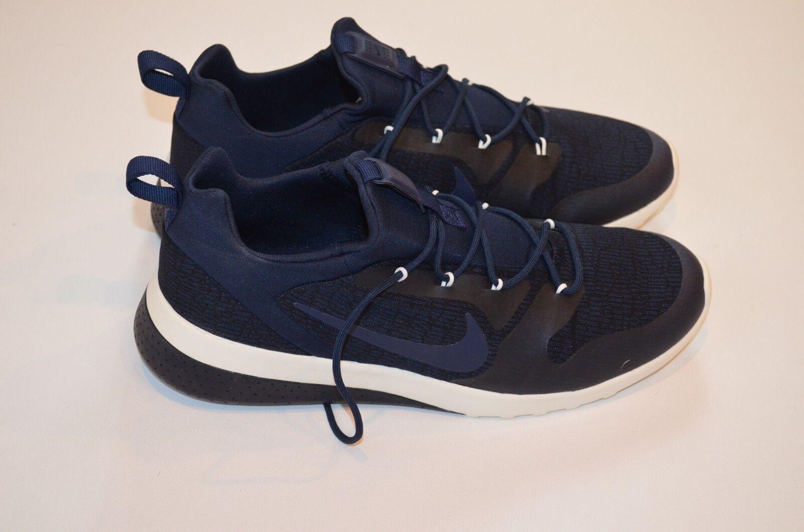 New Men's Nike CK Racer Athletic Training Shoes Obsidian Blue Black sz 9 Running