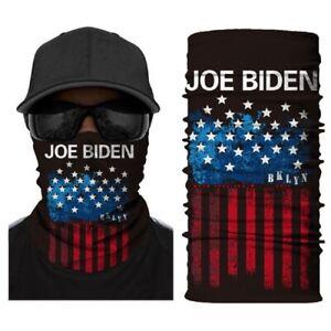 Seamless Men/'s Full Tube Bandanas Multifunctional Headwear Balaclava Neck Gaiter Joe Biden 4