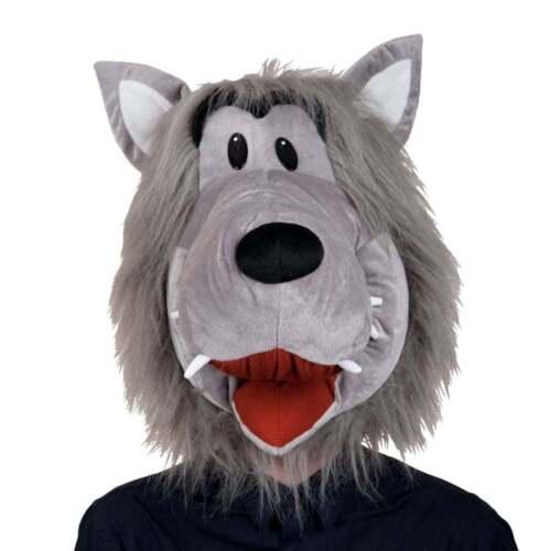 ADULT MASCOT HEAD ZOO ANIMAL NOVELTY MASK MENS LADIES FANCY DRESS