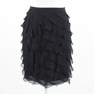 Black-sheer-overlay-100-silk-TERI-JON-Rickie-Freeman-diagonal-tiered-skirt-2