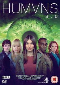 Humans-3-0-DVD-2018-Gemma-Chan-cert-15-2-discs-NEW-Fast-and-FREE-P-amp-P