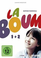 La Boum DIE FETE 1 + 2 SOPHIE MARCEAU Pierre Cosso 2 DVD Box Neu