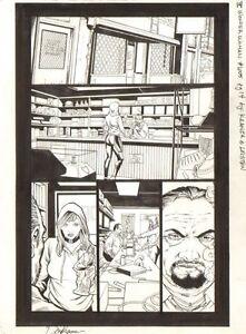 Wonder Woman #605 P.14 - IN Pawn Laden - 2011 Kunst Von Don Kramer