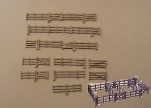 P/&D Marsh N Gauge N Scale B471 Cattle dock kit requires painting
