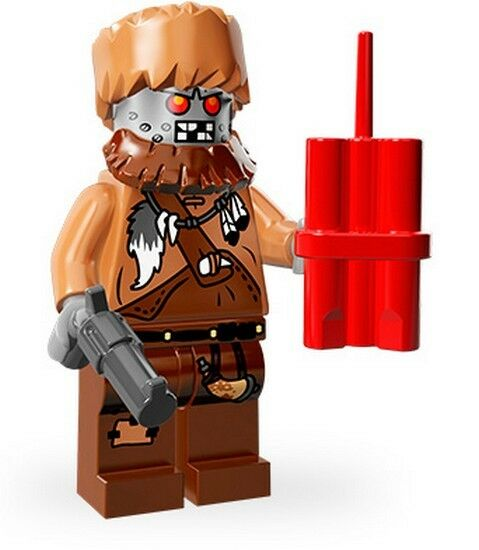 Lego Minifigures Series The Movie, 71004 - Wiley Fusebot / Fusebot 14/16