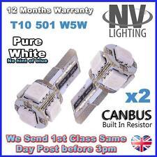 HONDA CIVIC MK8 FN2 XENON WHITE HIGH POWER 5 SMD CANBUS LED SIDELIGHT SIDE LIGHT