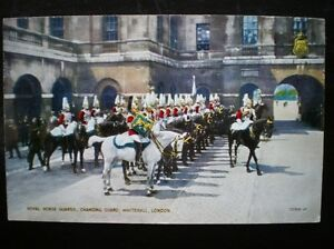 Details about POSTCARD MILITARY ROYAL HOUSE GUARDS CHANGING GUARD WHITEHALL  LONDON