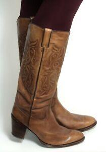 Cowboystiefel Damenstiefel Line Dance Catalan Style Leder Boots Tony Mora 40
