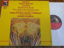 EL 7 49092 1 Kodaly / Janacek / Cleobury / Choir of King's College, Cambridge