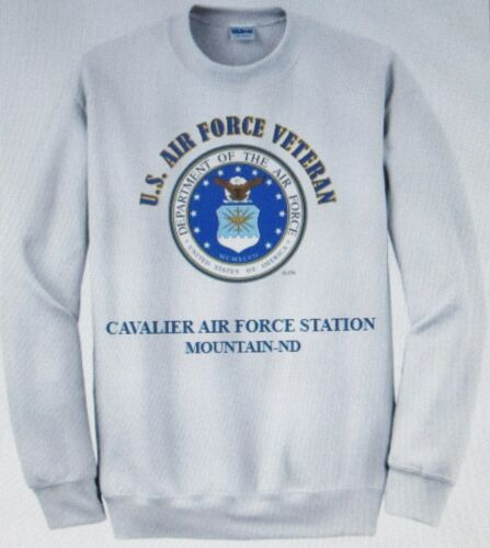 MARCH AIR FORCE BASE* RIVERSIDE COUNTY-CA* U.S AIR FORCE EMBLEM SWEATSHIRT