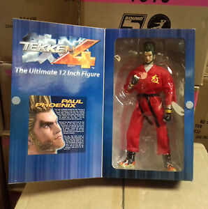 Tekken Tag 12 Action Figure Paul Phoenix Street Kombat Game Toy Ps4 Xbox Ebay