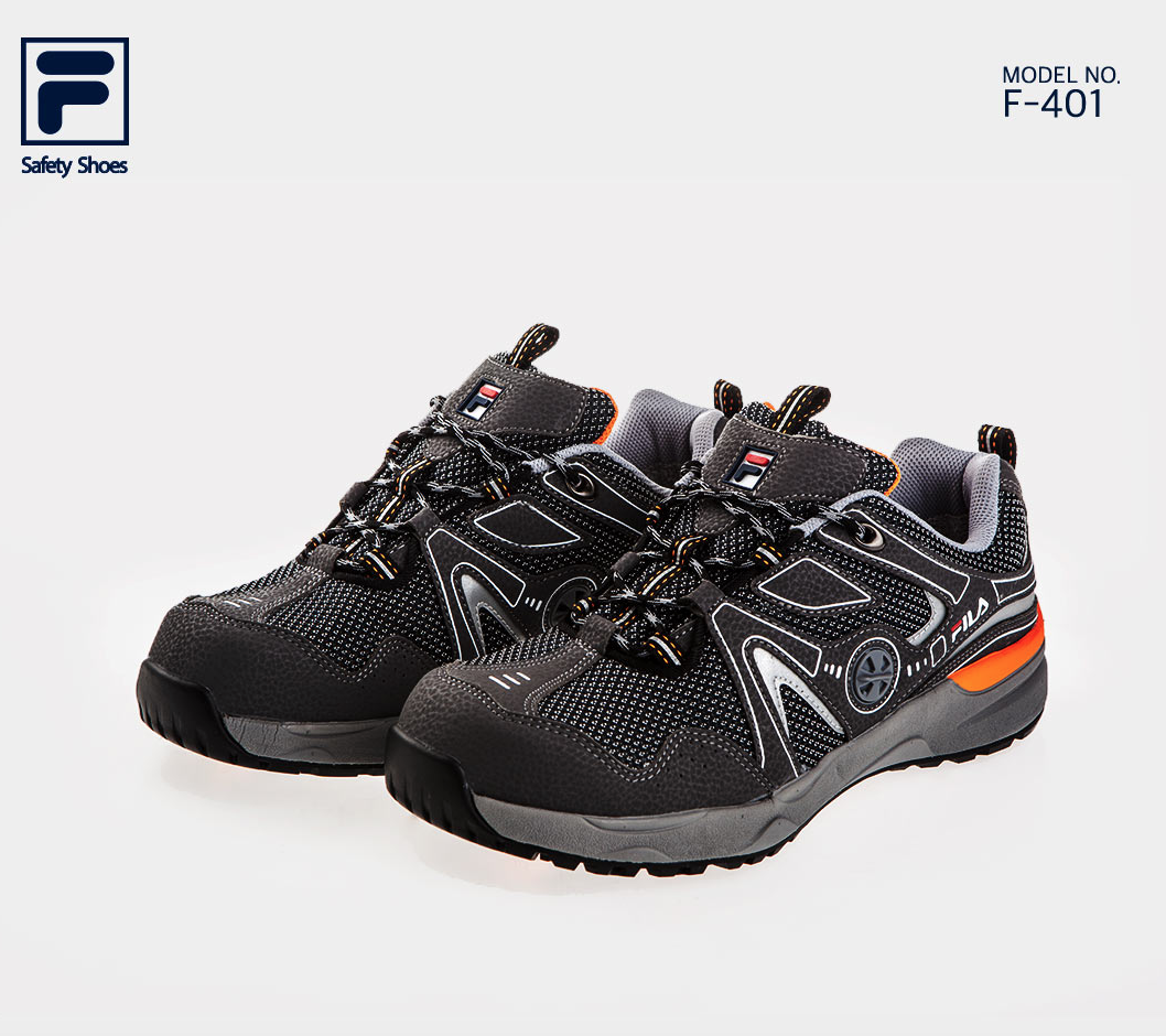 FILA Brand New Safety shoes Jogger F-401 Work shoes  Steel Toe US 7-10.5