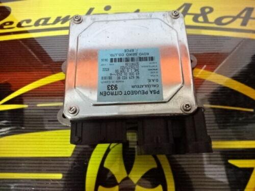 Lenkung Servolenkung Calculateur PSA Citroen Peugeot 9662993380 6900001212A