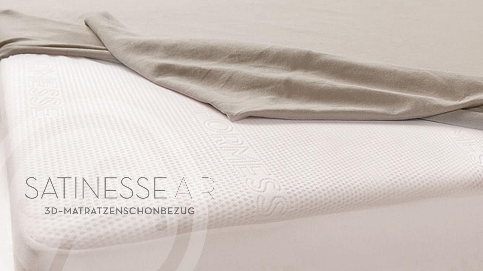 Matratzenschoner Satinesse Air Piccola wollweiss