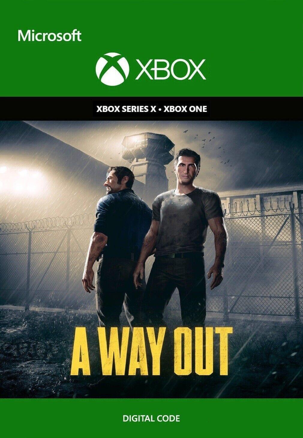 A Way Out (Xbox One) - DIGITAL DL