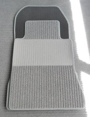 $$$ Rips Fußmatten für Mercedes Benz A124 W124 Cabrio E-Klasse NEU Anthrazit