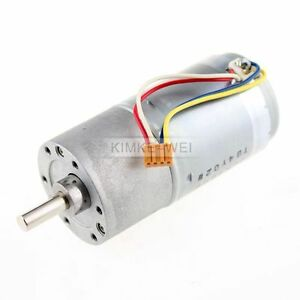 37mm-12V-DC-300RPM-Replacement-Torque-Gear-Box-Motor