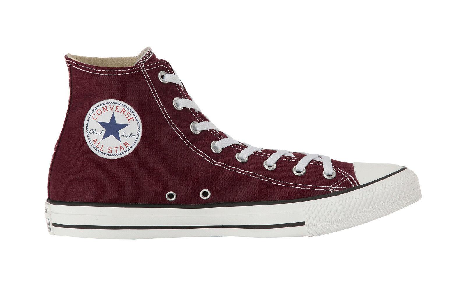 Converse Schuhes Chuck Taylor All Star High Top Herren Canvas  Herren Top Sneakers- Burgundy 2a7ca6