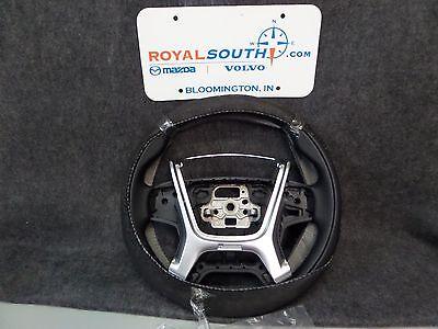 Genuine Volvo XC60 R DESIGN Black Leather Steering Wheel OEM OE 31390476