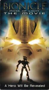 Bionicle-Mask-of-Light-VHS-2003-CGI-Animated-Movie-Rated-PG-LEGO-Bionicles