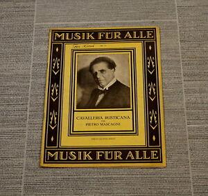 Musik-Musik-fuer-alle-Cavalleria-Rusticana-Pietro-Mascagni-Musikheft-Notenheft