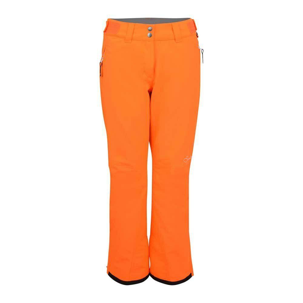 Womens DARE2B STAND II FOR Vibrant orange  Stretch Ski Pants SHORT LEG  very popular