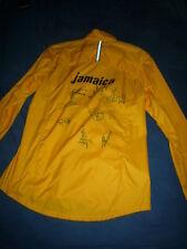JAMAICA Team Jacke von SHELLY-ANN FRASER  mit Autogramm von FRASER , USAIN BOLT
