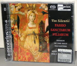 PROPRIUS-SACD-PRSACD-2033-Vox-Silentii-Passion-Holy-Daughters-2006-SWEDEN-SS