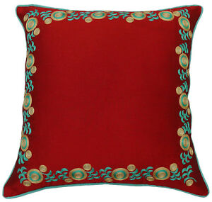 S4Sassy-Floral-Embroidered-Pillow-Home-Decorative-Indian-Cushion-Cover-Throw