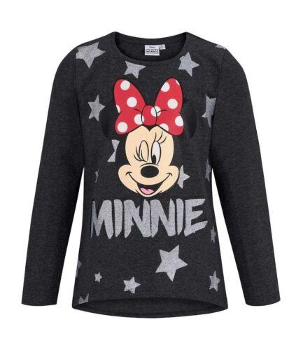 Girls Official Licensed Various Disney Long Sleeve T Tee Shirt Top 2-10 Years