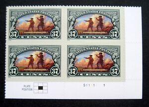 Sc-3854-Plate-Block-37-ct-Lewis-amp-Clark-Bicentennial-Issue-df20